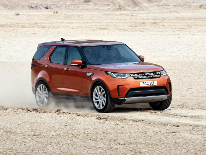 2017 Land Rover Discovery – New Body Release