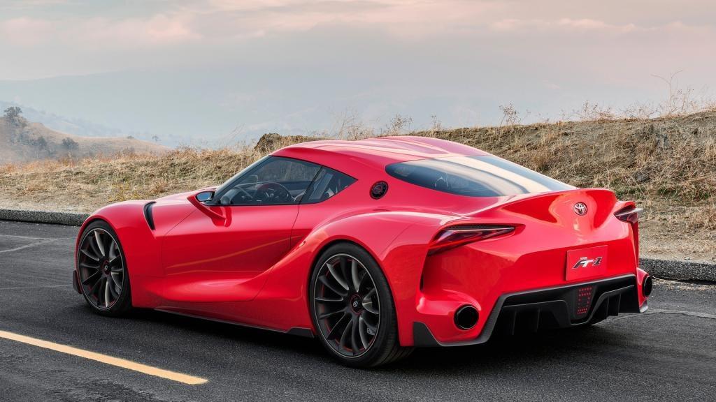 2017 Toyota supra - New Futuristic Rocket