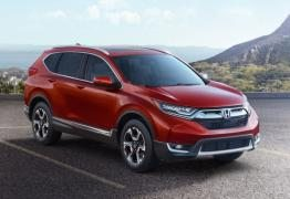 2017 Honda CRV – New Interior