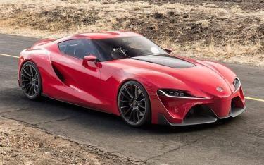 2017 Toyota supra – Futuristic Rocket