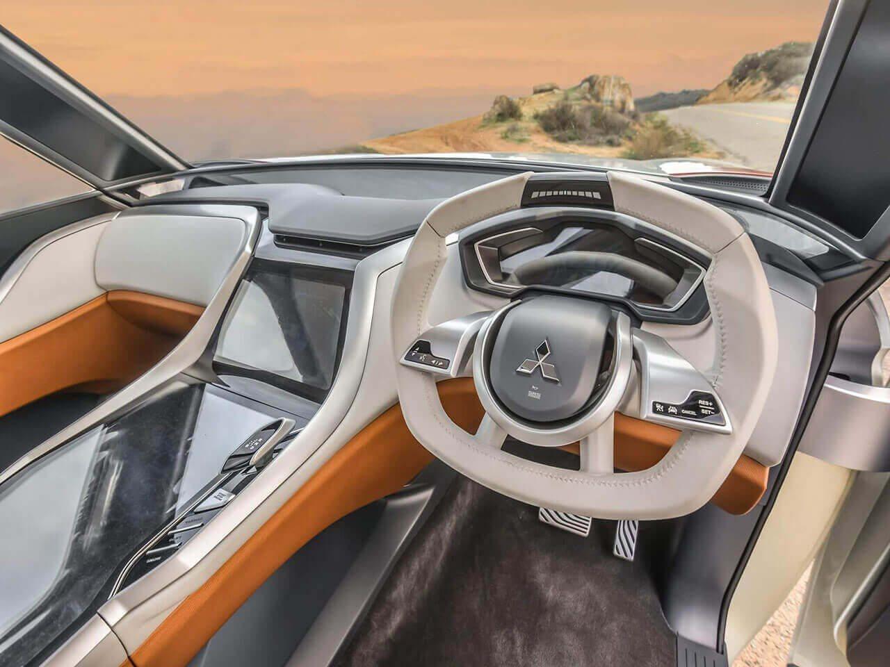 2017 mitsubishi montero futuristic suv from rising sun country might get hybrid engine. Black Bedroom Furniture Sets. Home Design Ideas