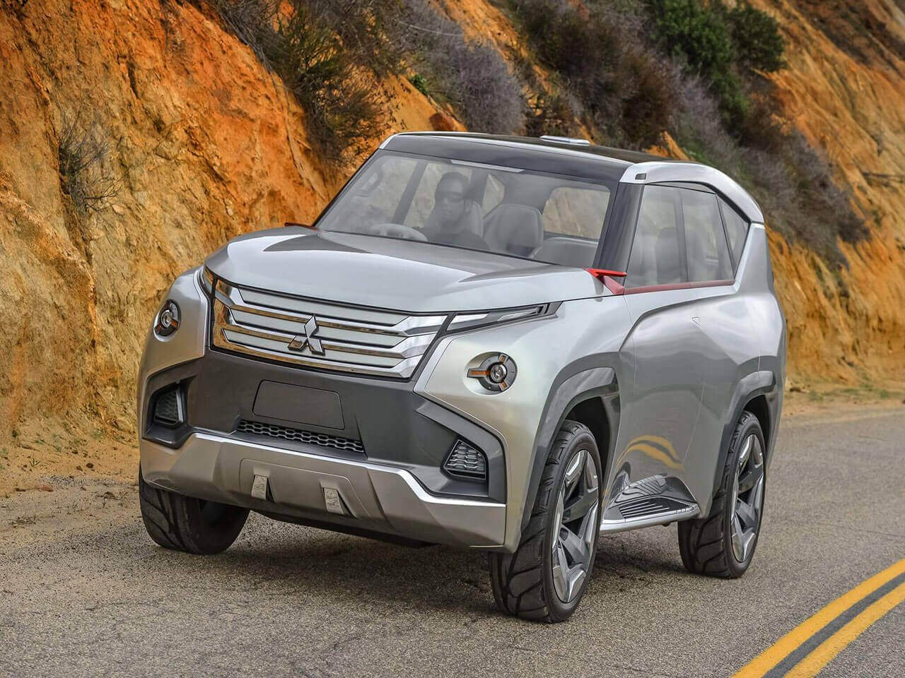 2017 mitsubishi montero futuristic suv from rising sun country might get hybrid engine. Black Bedroom Furniture Sets. Home Design Ideas
