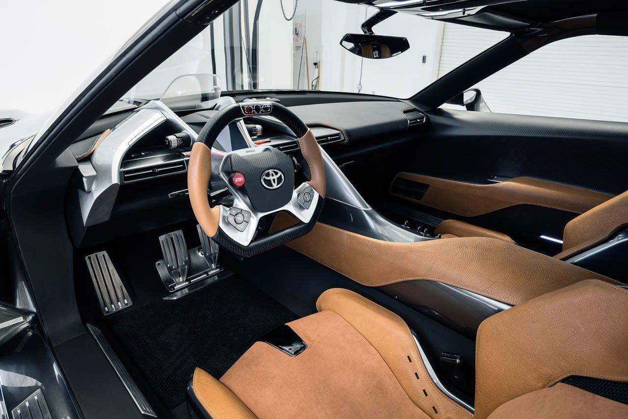 2018 Toyota Supra Engine