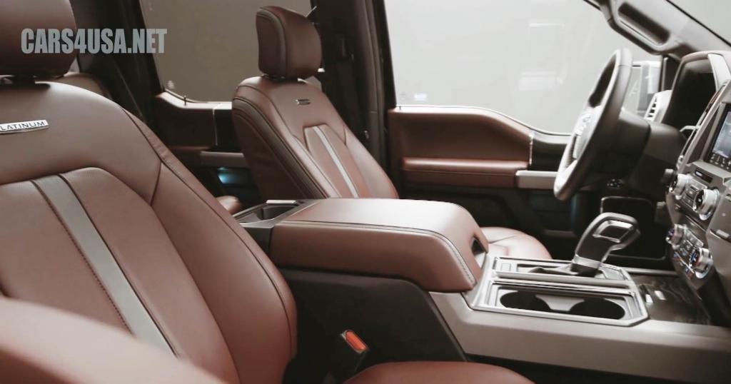 2018 Ford F150 Interior