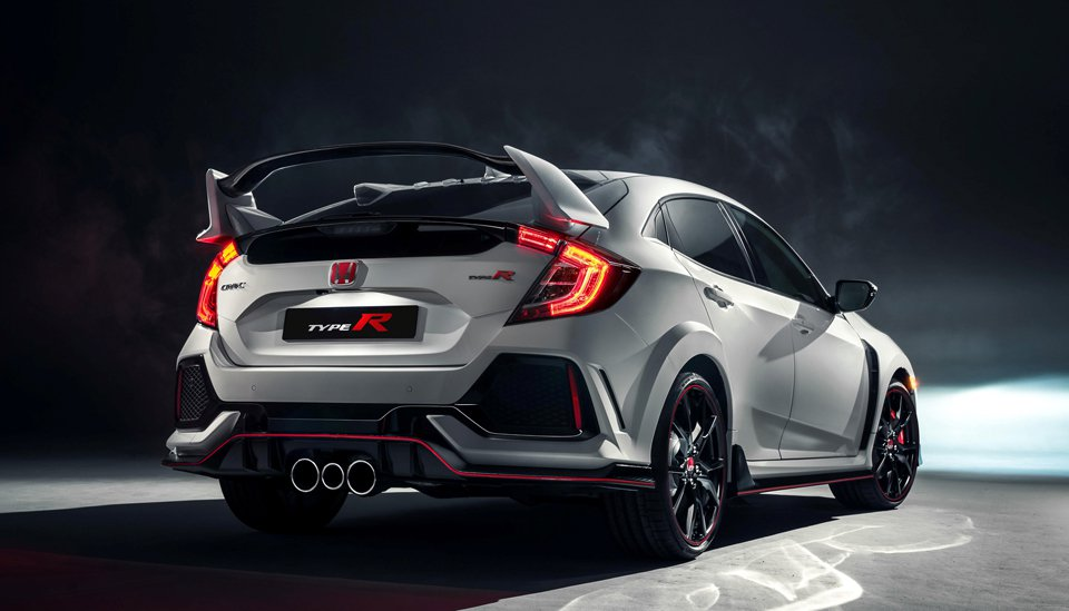 2018 Honda civic type R Exterior