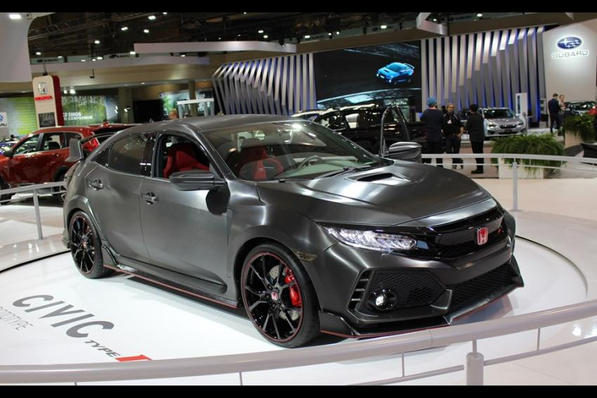 2018 Honda Civic Type R – Charged Hatchback Already Debuted in Geneva