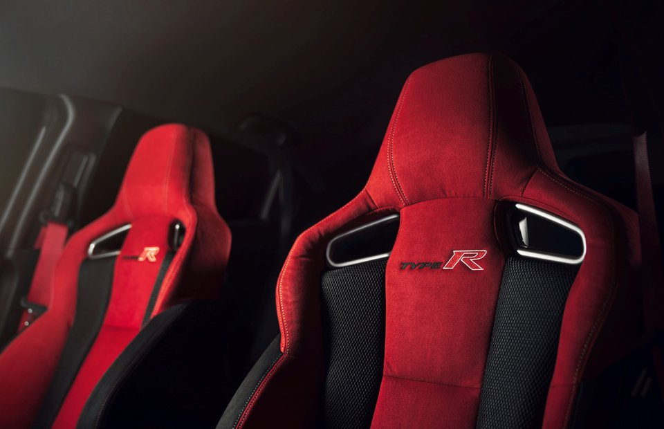 2018 Honda civic type R seats