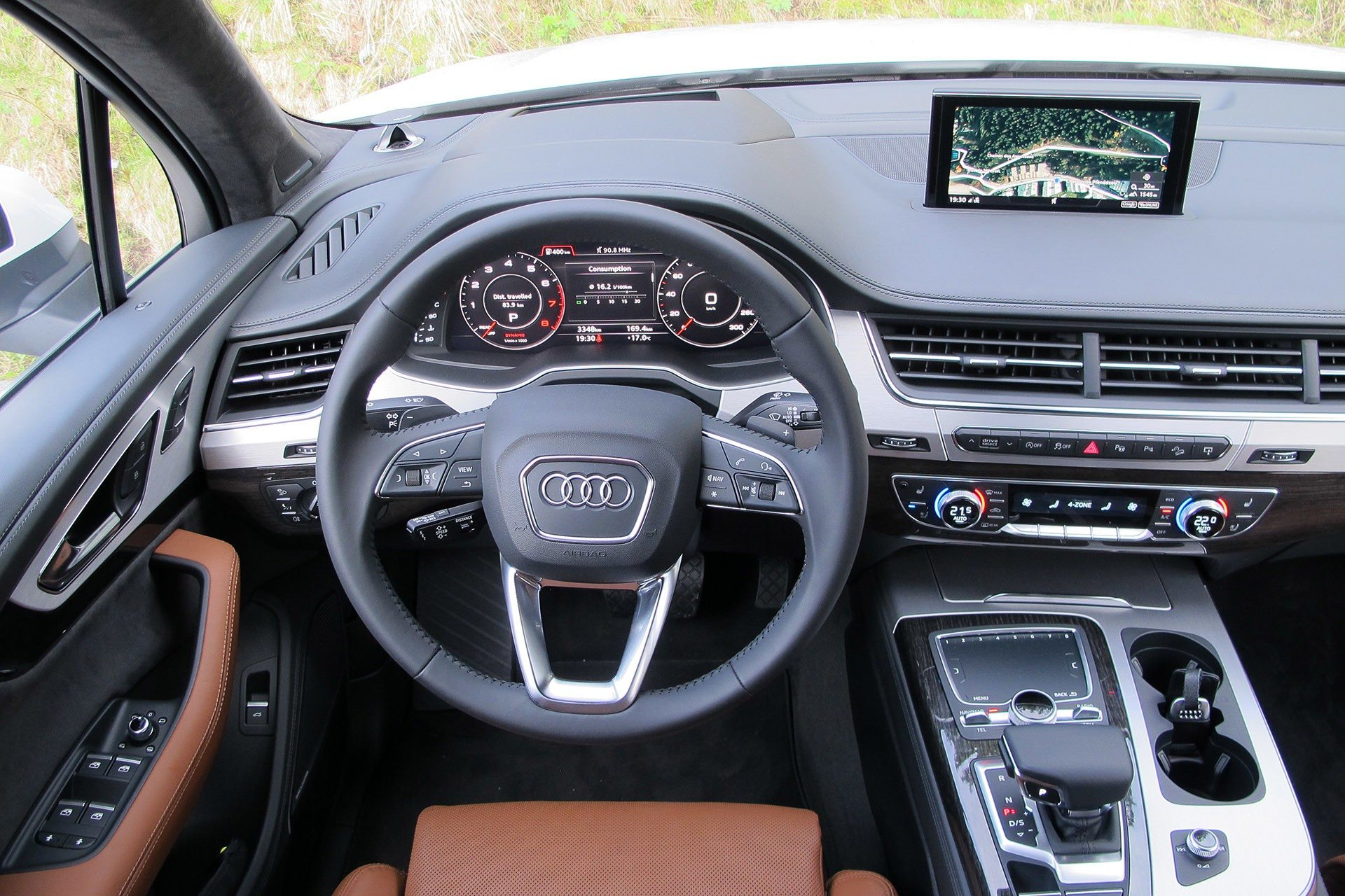 Audi Q7 2017 Interior Colors
