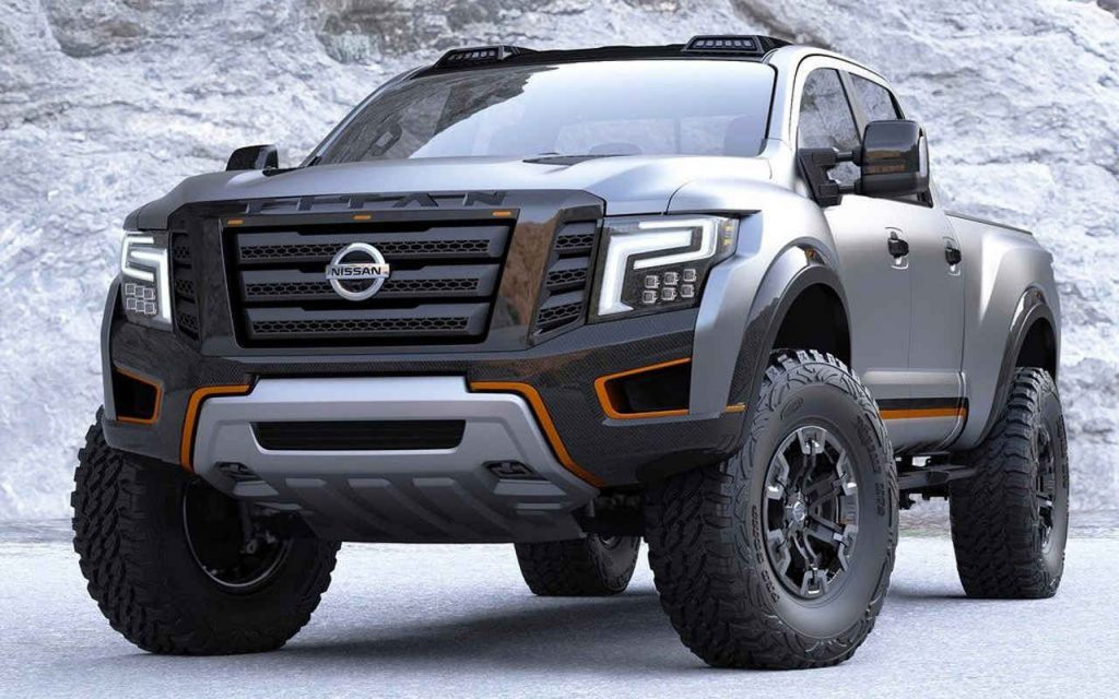 2018 nissan titan the new trucks king is ready to hit the roads. Black Bedroom Furniture Sets. Home Design Ideas