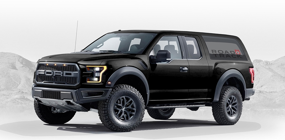 2020 Ford Bronco Raptor Concept