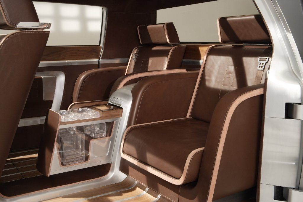 Ford Super Chief backseats